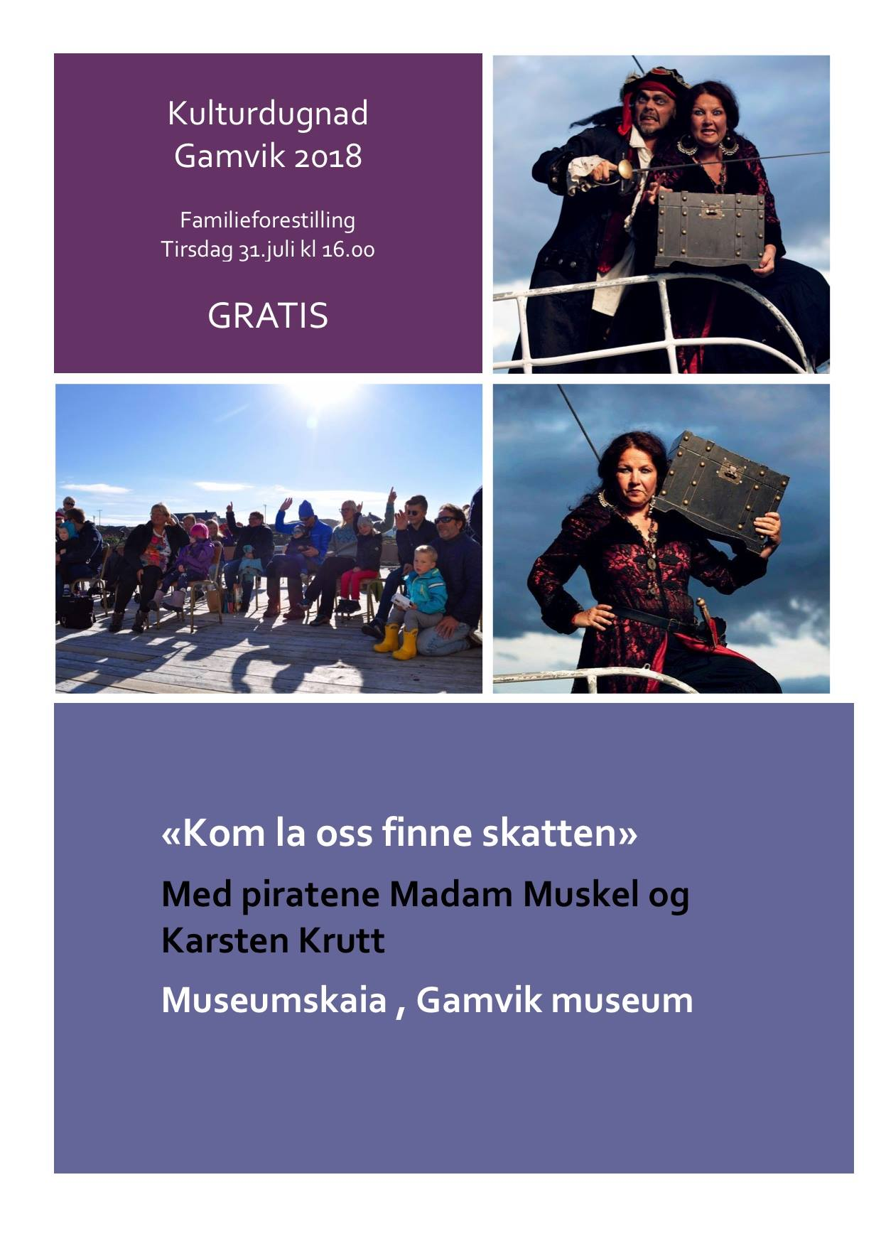 Program Kulturdugnad Gamvik 2018 6